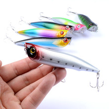 YOUEM 1pcs Topwater Pencil Lure Fishing Bait Artificial Minnow Lure 10.5cm 15.7g Hard Lures Popper Baits