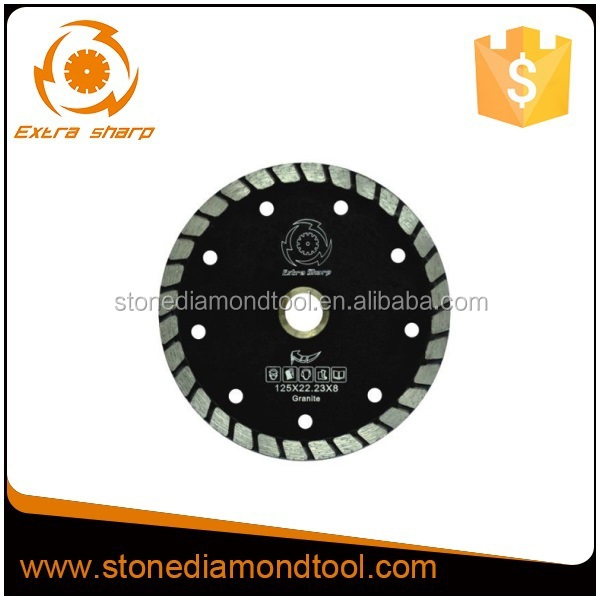 Wet Turbo Diamond Small Cut <strong>Blade</strong> for Granite, Marble, Tile