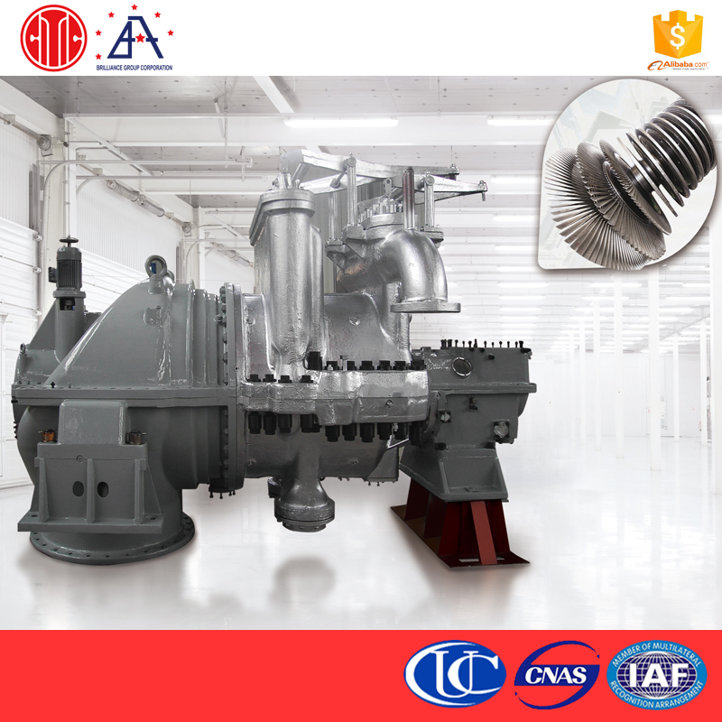 Best Quality Industrial Application Power Plant Biomass Dual Fuel Generator Sets Extraction Condensing Steam Turbine