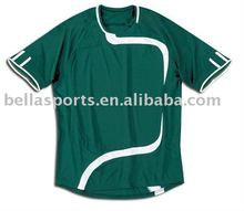 round neck green t shirt,casual golf t shirt,10-11 soccer kits