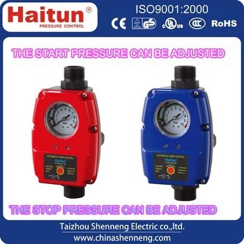 water pump with automatic pressure control