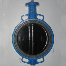china low price wafers end type butterfly valves handle operation