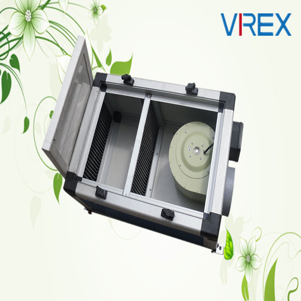 Noiseless Box Inline Ducting Hydroponics Fan rectangular ventilating fan