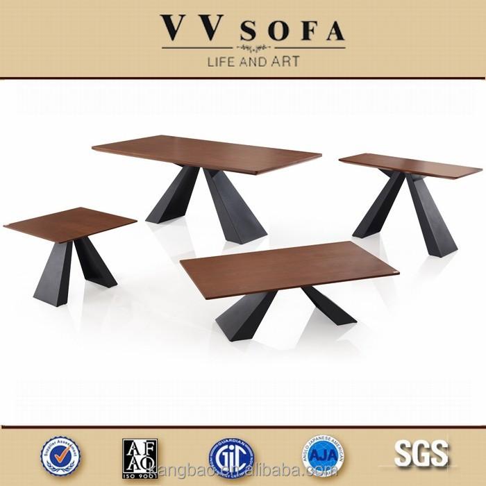 kangbao 최신 디자인 식당 세트, 현대적인 목재 테이블, 식탁 ...
