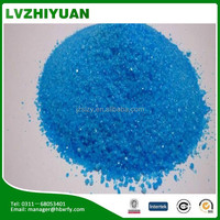 99.8% bluestone pentahydrate crystal100% soluble Copper Sulphate pentahydrate for swimming pools /water treatment chemicals
