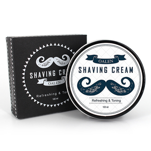 Private Label Naturals mens Bulk Shaving Cream for Hydrating and Soothing