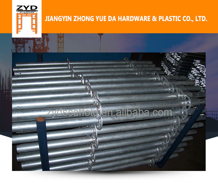 Hot Dip Galvanized Ringlock Scaffolding System
