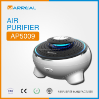 Smart desktop air purifier mini ozone car air refresher