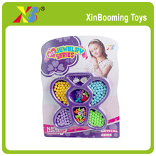 Fashion Girls Play Jewelry Toys DIY Beads Toys for Girls
