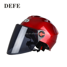 Cheap custom half face motorcycle helmet red summer helmets