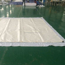 WHITE 850g PVC TARPAULIN FABRIC Roof/COVER/AWNING/CONVEYOR BELT