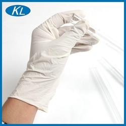 Wholesale small size natural chemical resistant disposable latex gloves