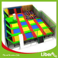 Best Colorful Jumping Bed Children Climbing Wall Foam Pit Indoor Park