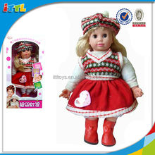 The Newest Design Famous Baby Doll With IC Electric Talking Doll For Kids