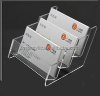 Clear Plastic Business Card box
