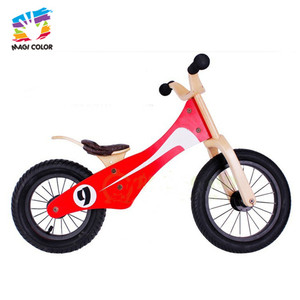 wholesale cheap wooden no pedal bike for children W16C052