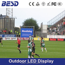 Basketball, football field Perimeter advertising led display P10,P16, P20 outdoor stadium led board