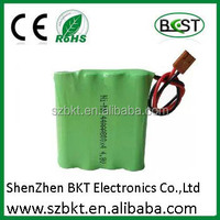 aa rechargeable battery pack 4.8v aa 800mah
