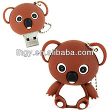 Full 3D sitting koala cartoon shaped usb drive 4gb(LH -1055)