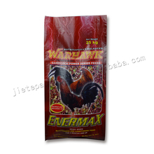 (Vid) High quality gravure printing plastic animal feed bag 25kg for chicken feed,birdfeed,fish feed