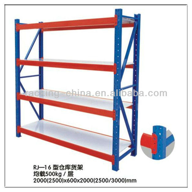 powder coated shelving/longspan shelving units