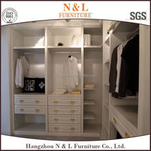 Wooden Bedroom Furniture Wardrobe Interiors Built-in Wardrobe/Closet Storage Designs by Hangzhou Furniture