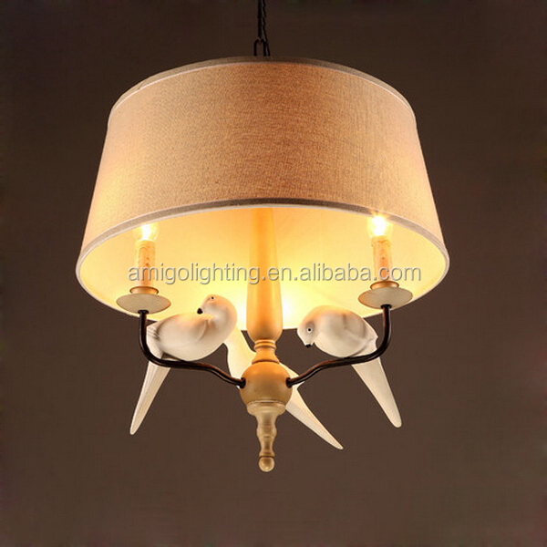 modern decorative chandelier with birds for restaurants BP02-3