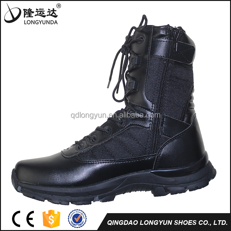 Factory Stock Hot Selling Police Shoes Protective military desert boots