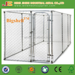 4x2.3x1.83m Large outdoor chain link dog kennels & dog cages & dog runs dog fence panel