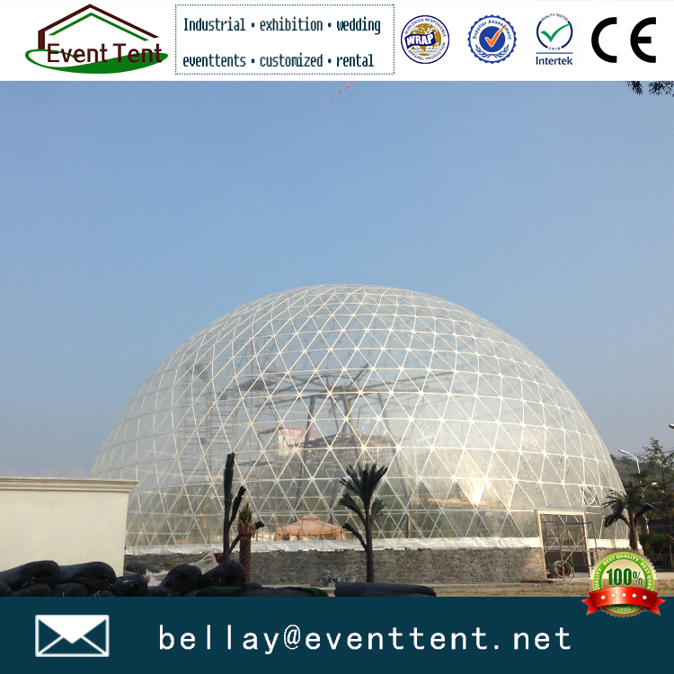 Luxury geo dome tent for outdoor events