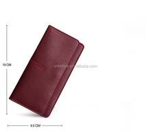 Highest quality Custom Ladies Genuine Leather Latest Wholesale Clutch Purse/Women Wallet