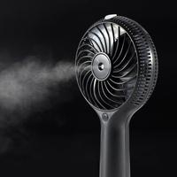 2016 Summer Promotional Products Handheld Mini Water Air Cooling Fan Mist Fan Water Spray Fan