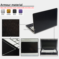 2016 new promotion gifts 3d armour material custom skin for Lenovo Samsung Acer etc.