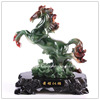 Resin Jade Chinese luckly horse ,Fengshui Horse ,resin horse trophy