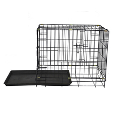 24'' China cheap wholesale commercial folding iron tube pet dog cages MHD002