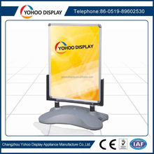 A1 size plastic advertising water tank base poster board