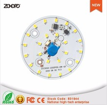 220v 110v 9w dimmable round aluminum led module