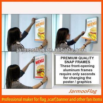 custom cheap plastic snap poster frames buy plastic snap
