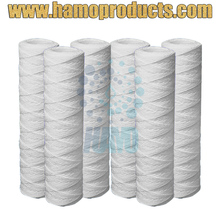 HAMO MAX 80C Polypropylene Materials String Wound Filter Cartridge with PP Filter Core
