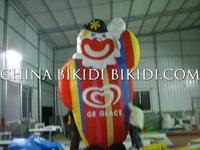 cold air ballons, rooftop balloons with logo& slogan