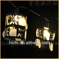 Holiday Garden Decoration Shell Flowers Clear Low Consumption Mini Lights