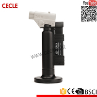 Popular smart windproof gun shaped cigarette lighter