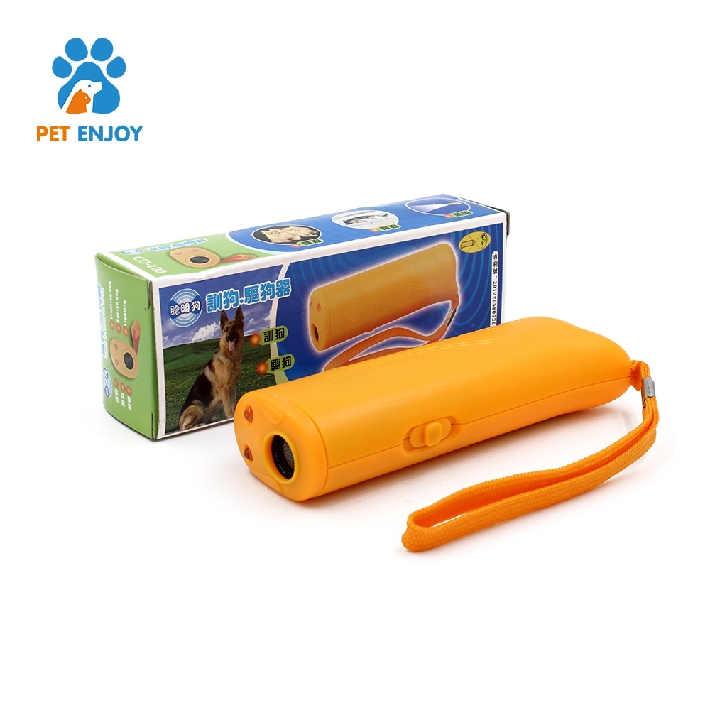 3 in 1 Handheld Portable Electronic Wire Alert Outdoor Ultrasonic Sound Pet Dog Chaser Repeller Stop Anti Bark Control Device