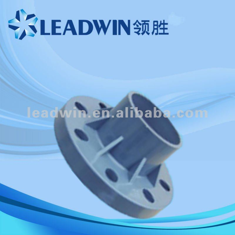 DIN standard PVC fittings with flange, pvc pipe fittings with rubber joint