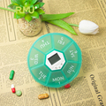 Top Quality round pill dispenser box Best price of food grade