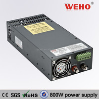 CE ROHS Approved parallel connection Switched-mode power supply 33A 800W 12v smps