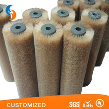 Custom Nylon Round Conveyor Cleaning Spiral Wire Wound Coil Brush