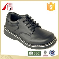 cheap school black leather student shoes