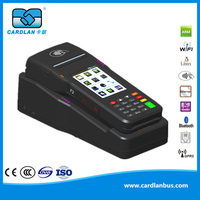 Touch Screen POS system support barcode and card reading