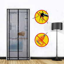Magnetic curtain for insect protection, ideal magnetic fly screen for balcony door
